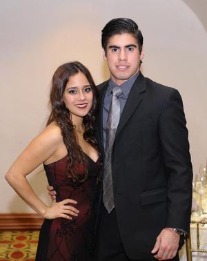 Ana Paola y Diego.