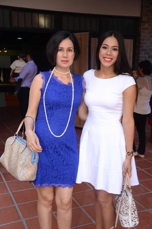 Aracely y Alejandra.