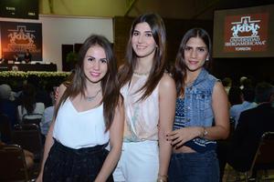 Marcela, Layla y Susana.