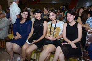 Olga, Berenice, Paola y Paulina.