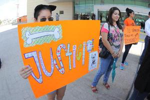 """Los rescatistas exigen justicia en el caso de """"Matías""""."""
