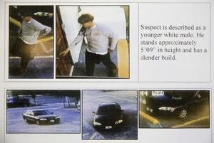 Estas son las imágenes del tirador y el vehículo en el que huyó.