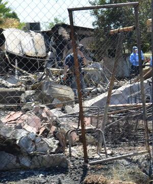 Fue al filo de las 3:50 horas cuando se solicitó el apoyo de las autoridades a través de la central de emergencias, informó el alcalde Jaime Díaz Ochoa.