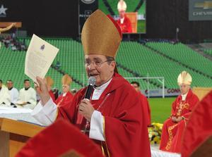 Durante la ceremonia se leyó un mensaje especial del Papa Francisco.