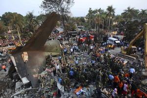 Un accidente aéreo se registró en el norte de la provincia de Sumatra, en Indonesia.