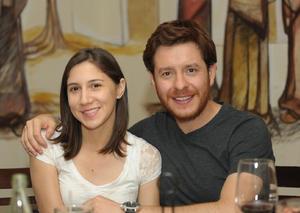 Ana y Samuel.
