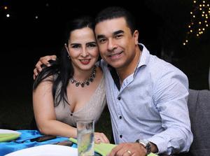Lupita y Miguel.