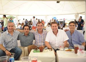Alberto,Toño,Curro,Dario,y Rafael..