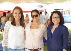 Cristy,Natalia y Ale.