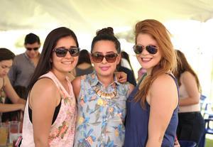 Fabiola, Laura y Zulema.