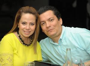 Gloria y Sergio.