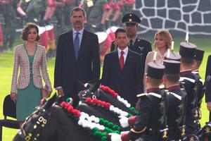 El mandatario y el monarca dieron un primer discurso oficial durante la mañana del lunes.