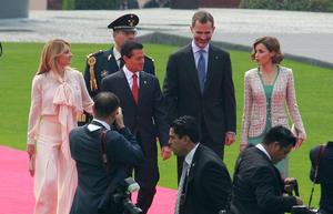 El lunes por la mañana se reunieron en Campo Marte con el presidente Enrique Peña Nieto.