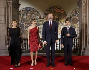 Los reyes de España están en México, donde realizan una visita de Estado de tres días.