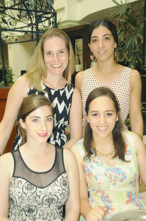 Lucero, Maritere, Marisol y Daniela