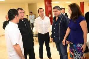 El Nuncio Apostólico Christophe Pierre, expresó que tras algunos años de no visitar Torreón ahora ve una ciudad muy diferente.