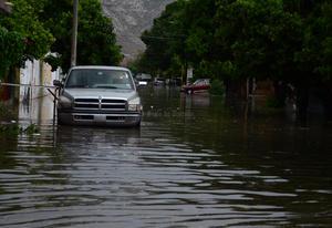 Hasta las 19:00 horas se tenía un registró de 39.8 milímetros de lluvia.