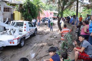 El Municipio trabaja ya en las zonas afectadas.