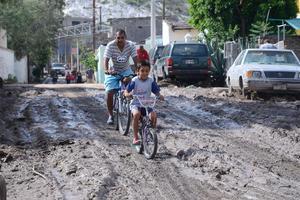 """El fenómeno climatológico que se registró  en la ciudad fue un """"chubasco'' con precipitaciones de 39.8 milímetros."""