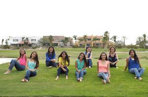Cecy, Mary Tere, Marisol, Estefany, Jimena, Ale, Aracely, Natalia y Claudia.