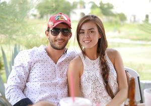 Andrés y Bárbara.