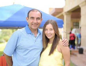 Héctor y Andrea.