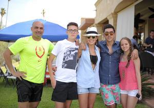 Nacho, Enrique, Nancy, Daniel y Melissa.