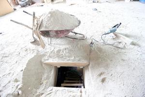 """""""El Chapo"""" Guzmán se fugó por un túnel desde el penal de máxima seguridad, hasta una casa en construcción."""