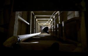 Se dieron a conocer también imágenes del interior del túnel.