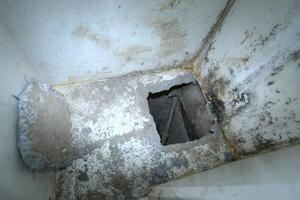 En el túnel que fue construido desde una casa a mil 500 metros y que terminó en la regadera de la celda marcada con el número 20.