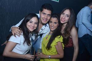 Andrea, Miguel, Bere y Jeniffer.