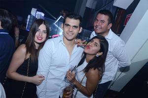 Daniela, Jaime, Raquel y Gerardo.