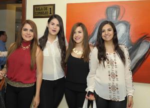 Andrea, Andrea, Anna Paola y Antoniela.