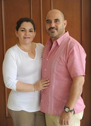 Rosario y Jorge Alberto.