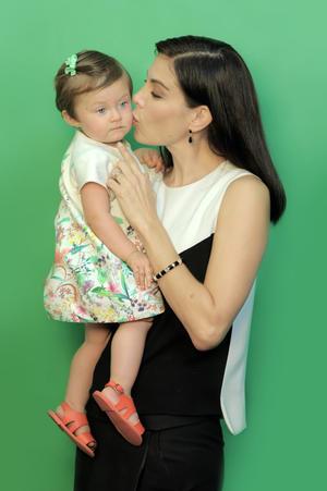 Sandra Destenave con Luciana 2.