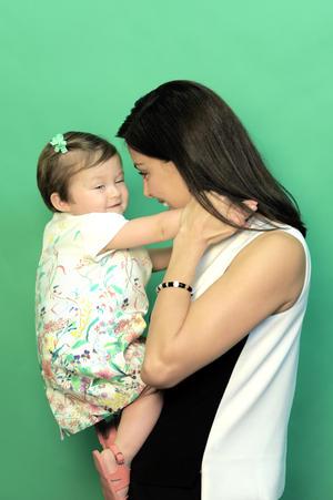 Sandra Destenave con Luciana 3