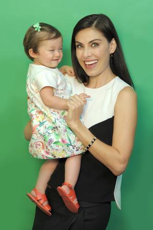 Sandra Destenave con Luciana 4