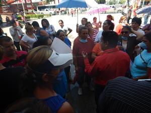 El contingente fue atendido por las áreas de Gobernación, Sideapa y Atención Ciudadana.