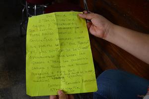 Como despedida a todas aquellas personas que disfrutaron en algún momento del ambiente que brindó este lugar, don Antonio escribió una carta.