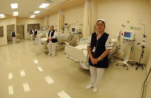 El inmueble operará con el personal del viejo hospital.