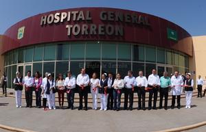 El gobernador de Coahuila, Rubén Moreira, inauguró las nuevas instalaciones.