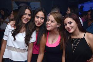 Fernanda, Sofía, Anafer y Ale