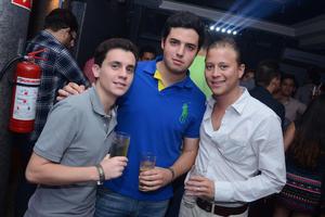 Memo, Carlos y Diego