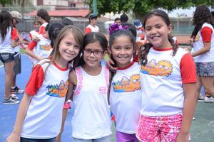 Danna, Ana Sofía, Fernanda y Adriana