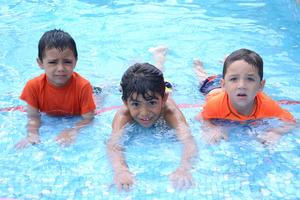 Gael, Andrew y Héctor