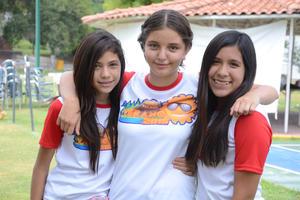 Pamela, Luisa y Daniela
