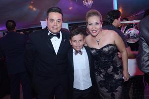 Víctor, Patricio y Karla