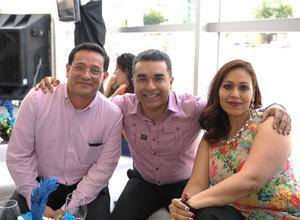 Alfredo, Miguel y Rita