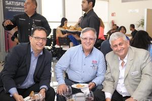 Jorge, Enrique y Samir