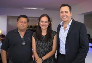 José, Jessica y Alberto